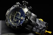 Invicta Men's 52mm Reserve King Venom Snake Dial Swiss Chrono Triple Black Watch