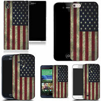 art case cover for All popular Mobile Phones -  american flag silicone