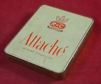 Vintage German Cigars Cigarillos Tin Box RuK Attache