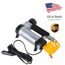 Portable Mini Air Compressor Electric Tire Inflator Pump 12 Volt Car 12V PSI