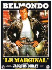 PLAQUE MÉTAL  FILM LE MARGINAL JEAN PAUL BELMONDO  30 X 20 CM