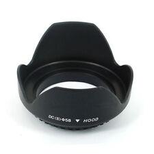 58mm Flower Shape Lens Hood For Canon EOS 1100D 650D 550D 600D 500D 450D Perfect