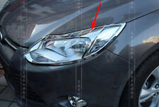 For Ford Focus 2012 2013 2014 2015 Hatchback Chrome Front Head light Lamp Cover