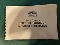 Randy Fromm Monitor Schematics Big Book Arcade CRT Wells Atari X-Y FREE S/H