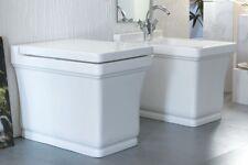 Vaso Wc Bagno da Terra Moderno Design Neò Scarico a Parete in ceramica bianco