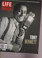LIFE MAGAZINE: TONY BENNETT WITH RARE & NEVER SEEN PHOTOGRAPHS 2015.