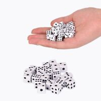 50pcs/lot 8mm Dices For Board Game Bar Gambling Game Set Club Party AccessoriBCD
