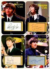 The Beatles SUPREME CUTS  ACEO FACS Autograph SAMPLE Sets (4) L#34