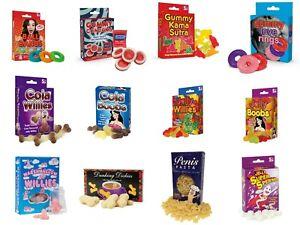 Fun Novelty Gummy Jelly Sweets Xmas Joke Prank Secret Santa Stocking Filler Gift
