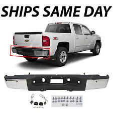 NEW Steel Complete Chrome Bumper for 2007-2013 Chevy Silverado & GMC Sierra 1500