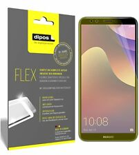 3x Huawei Y7 Prime (2018) Screen Protector Protective Film covers 100% dipos