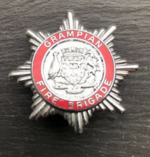 "GRAMPIAN FIRE BRIGADE CAP BADGE. Height 1-3/4"" (43mm)"