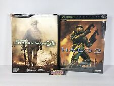 Halo 2 Call Of Duty MW2 Prima Brady Games Video Game Strategy Guide Lot of 2
