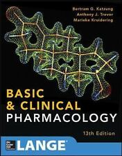 Basic and Clinical Pharmacology, 13th International Edition by Katzung, Trevor