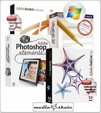 Adobe Golive CS2 + Photoshop Elements 3.0 + Acrobat 7.0 + UltraEdit-32, Go Live