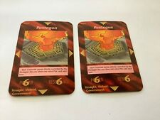 "Illuminati New World Order ""Pentagon"" Card Game NrM"