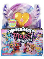 Hatchimals Pixies Riders GOLD SHIMMER CHARLOTTE & DRAGGLE ~ RARE! Hot Toy 2020