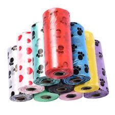 10 рулон 150 шт. разлагается отходы питомцев корма сумки собака кошка очистки сменный мешок для мусора