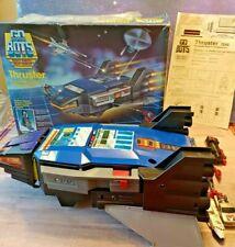 Vintage 80's GoBots Thruster Robot Vehicle Renegade + Figure Lot Transformers