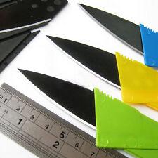 PRO Cardsharp Credit Card Folding Razor Sharp Wallet Knife Outdoor Survival Tool