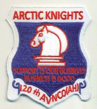 US ARMY 120TH AVN CO ARCTIC KNIGHTS PATCH