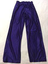 Eastbay Mens XLT XL Tall Royal Purple Tear Away Snap Side Warm Up Athletic Pants