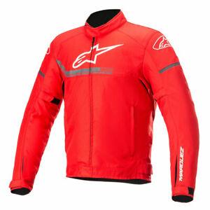 Alpinestars MM93 Austin Motorcycle Waterproof Riding Textile Jacket Red