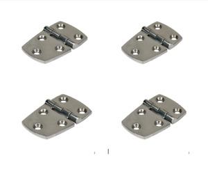 Hinges, Stainless Steel x 2 pairs , 316g Strap Hinge, total = x 4 Hinges