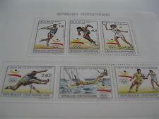 Central Africa-1990-summer olympics-Barcelona92-klb.MI.1429-33