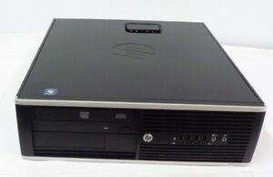 HP COMPAQ PC DESK SFF 6200 PRO INTEL CORE I5 3.1GHZ RAM 4GB HD 250GB WINDOWS 7 P