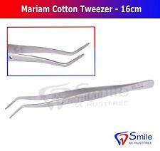 Marium coton et dressing Pince à épiler pince coton Chirurgical examen Tampon CE