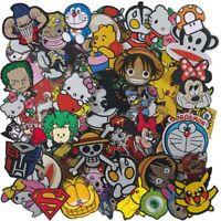 Iron On Patch Embroidered Wholesale Cartoon Anime Cute Movie Superhero Heroes