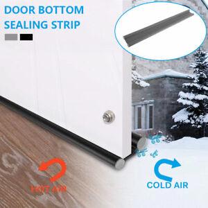 Under Door Draft Guard Stopper Reduce Noise Door Bottom Sealing Weather Strip UK