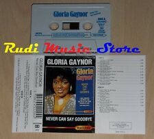 MC GLORIA GAYNOR Never can say goodbye eec SUCCESS 2204 cd lp dvd vhs