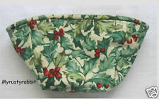 Longaberger Small Comforts Basket Fabric Liner ~ American Holly