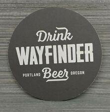 Wayfinder Brewing Beer Coaster Portalnd Oregon