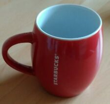 STARBUCKS Red & White Barrel Mug (Coffee/Hot Chocolate), Excellent condition.
