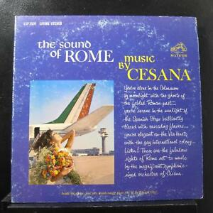 Cesana - The Sound Of Rome LP VG+ LSP 2600 Living Stereo 1962 USA Vinyl Record