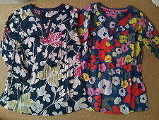 LADIES WOMENS BRAND NEW EX BODEN CRINKLE COTTON TUNIC TOP 6 8 10 12 14