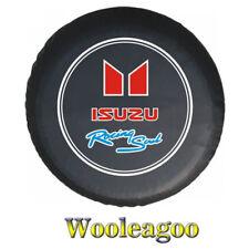 "For ISUZU 14"" or 15"" Heavy Duty Spare Wheel Covers Vinyl Soft Bag Protector"