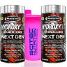 Muscletech Hydroxycut Hardcore Next Gen 2 x 100 Kapseln Fatburner + SHAKER