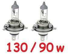 1 pr JTX H4 Halogen Globes Bulbs 12v 130/90W 90w low & 130w Hi beam now in Xenon
