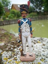 RE0154   FIGURINE STATUETTE REPRODUCTION SOLDAT  GROGNARD   NAPOLEON  BONAPARTE