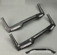 TOSEEK Carbon UD Bike Racing TT Base Bullhorn Bar Time Trial Triathlon Handlebar