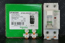 Schneider 2P 63A 300mA RCD RCCB Circuit Breaker DIF 263300 FREEDIF ID - NEW