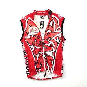 NWT Pactimo Men's Cycling Tri Top Full Zip Sleeveless Size Small