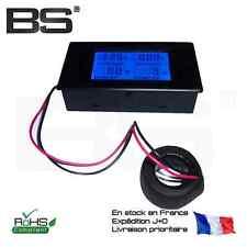 Volmetre amperemetre encastrable 250V 100A AC power monitor meter Ammeter