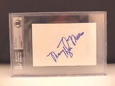 Mary Tyler Moore Signed Autographed 4x6 Index Card Beckett Certified & Slabbed