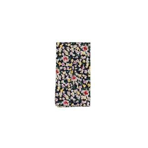The Gift Men's Pocket Square Navy Blue Hanning Floral Print Accessory $35 #650