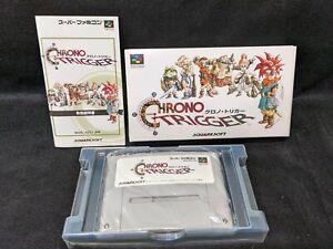 Super Famicom Chrono Trigger Japanese Import SFC Tested & Works USED